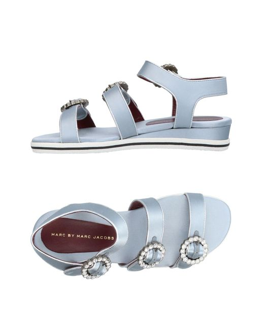 Marc By Marc Jacobs - Gray Sandals - Lyst
