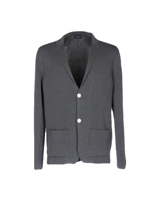 Drumohr - Gray Blazer for Men - Lyst