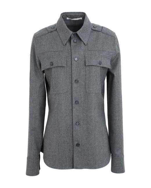Camisa Stella McCartney de color Gray
