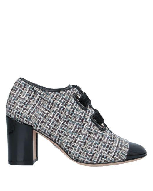 Rodo Blue Lace-up Shoe