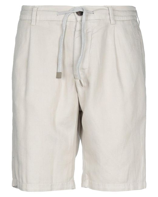 Eleventy Gray Bermuda Shorts for men