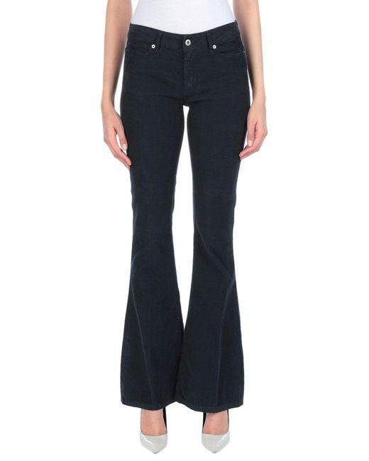 Dondup Black Casual Pants