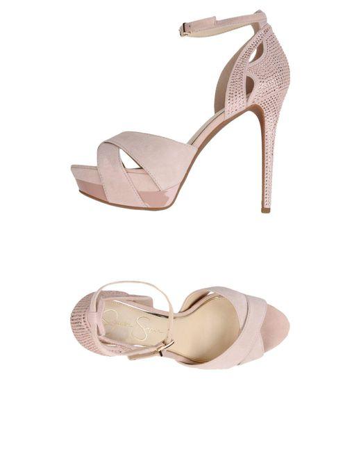 Jessica Simpson Pink Sandals