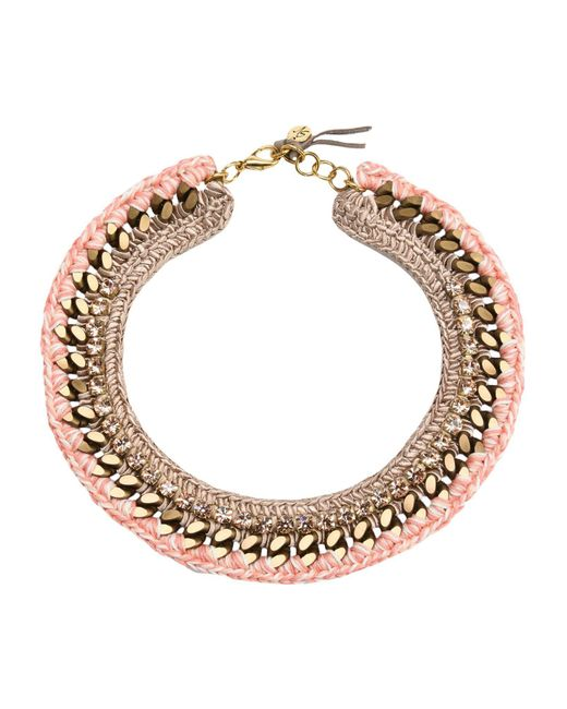 First People First - Pink Necklaces - Lyst