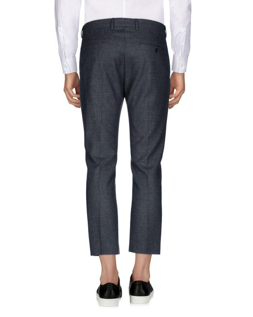 Mauro Grifoni Gray Casual Pants for men