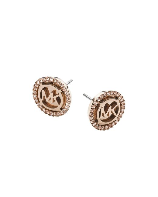 Michael Kors - Metallic Earrings - Lyst
