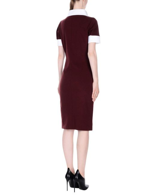 DSquared² Red Knee-length Dress