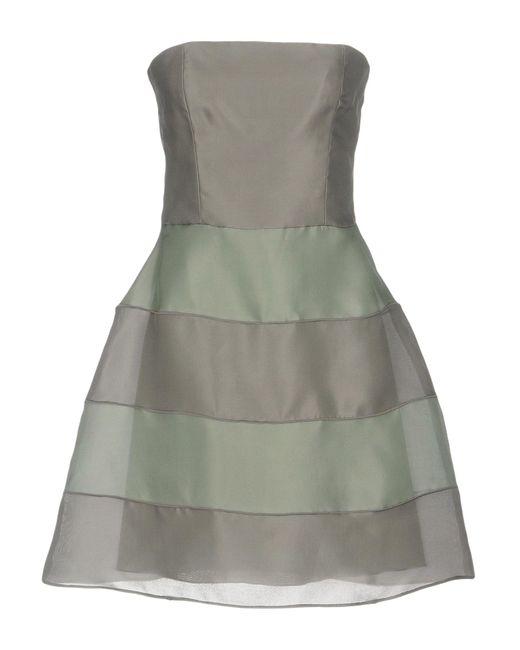 Armani Green Short Dress