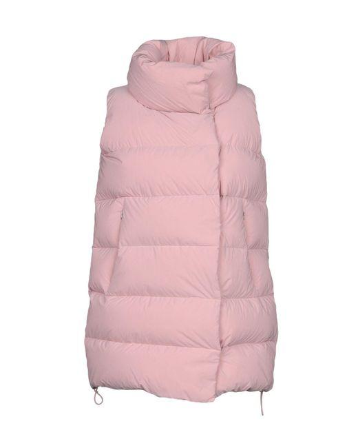 Add - Pink Down Jackets - Lyst