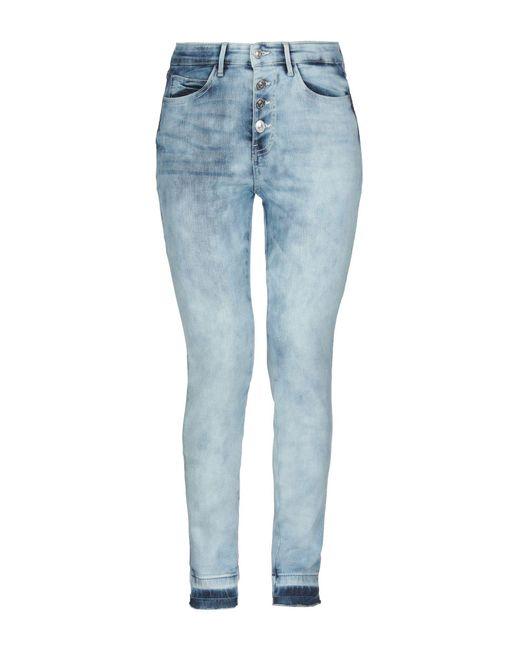 Pantalon en jean Guess en coloris Blue