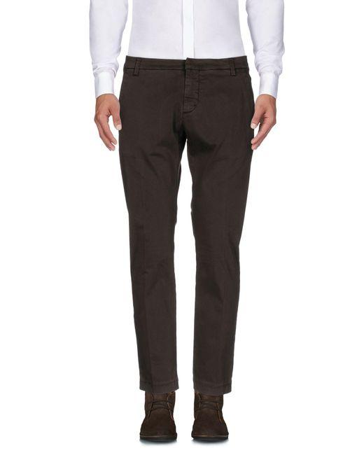 Michael Coal Brown Casual Trouser for men
