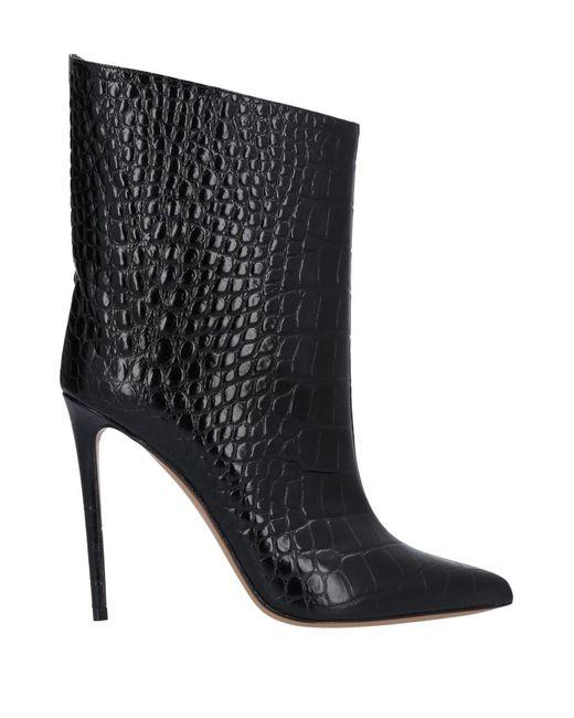 Alexandre Vauthier Black Ankle Boots