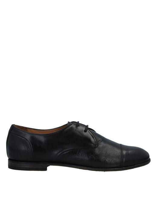 Silvano Sassetti Black Lace-up Shoe