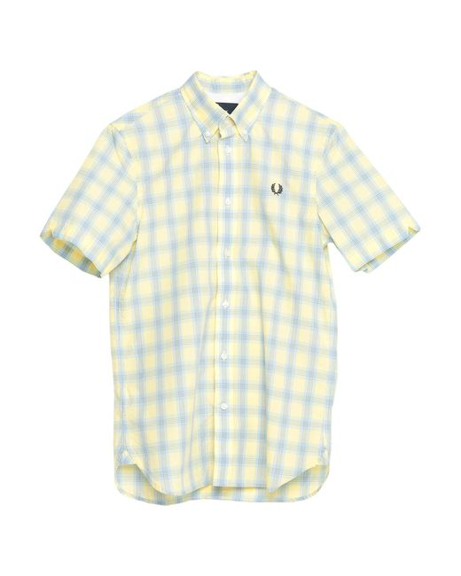 Camisa Fred Perry de hombre de color Yellow