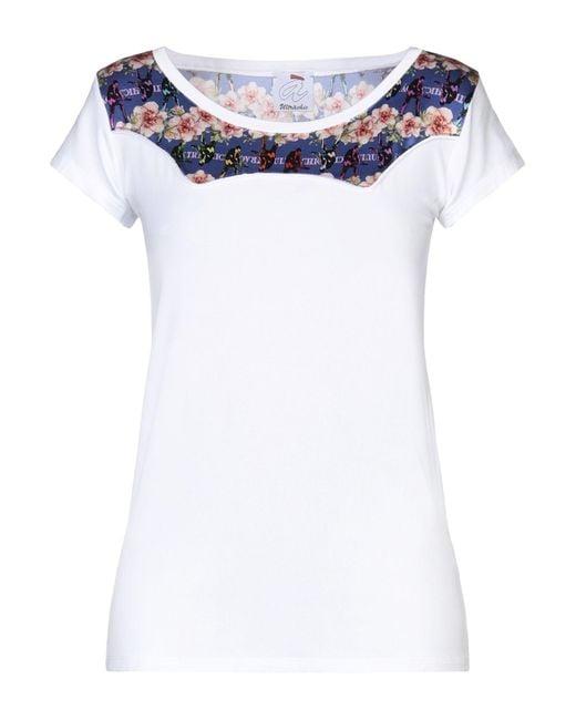 Camiseta Ultrachic de color White