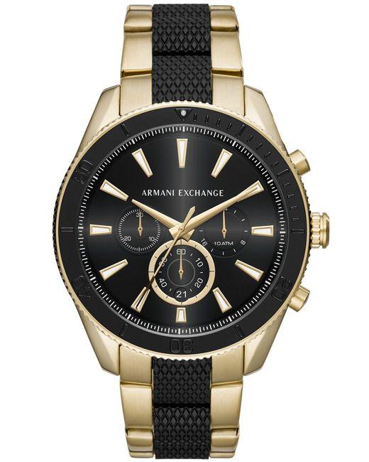 Armani Exchange Metallic Wrist Watch for men