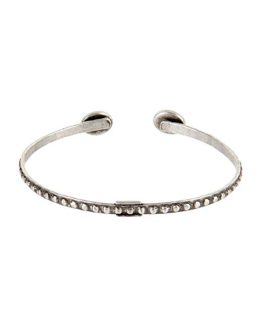 Ela Stone Gray Bracelet