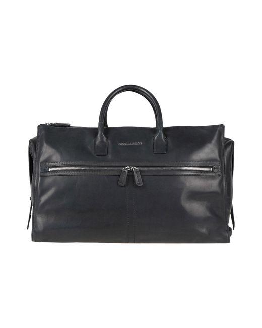 DSquared² - Black Travel & Duffel Bag for Men - Lyst