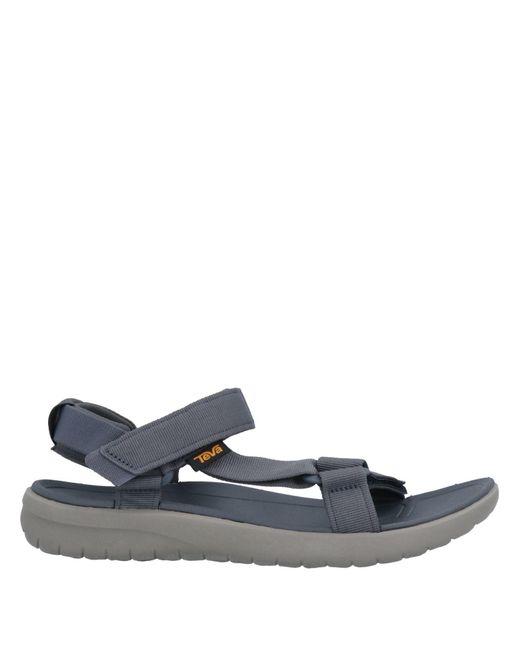 Teva Blue Sandals for men