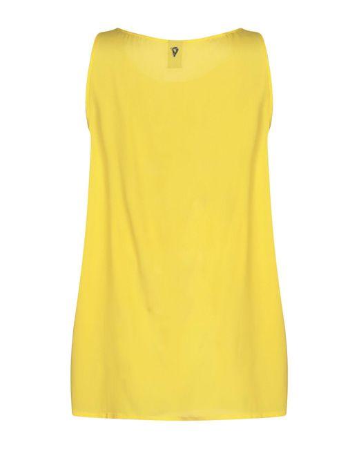 Top Dondup en coloris Yellow