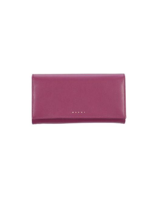 Marni Multicolor Brieftasche