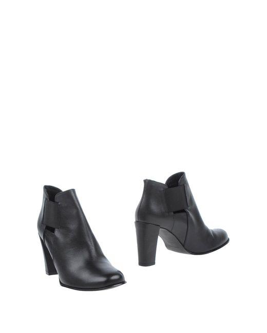 Karen Millen Black Ankle Boots
