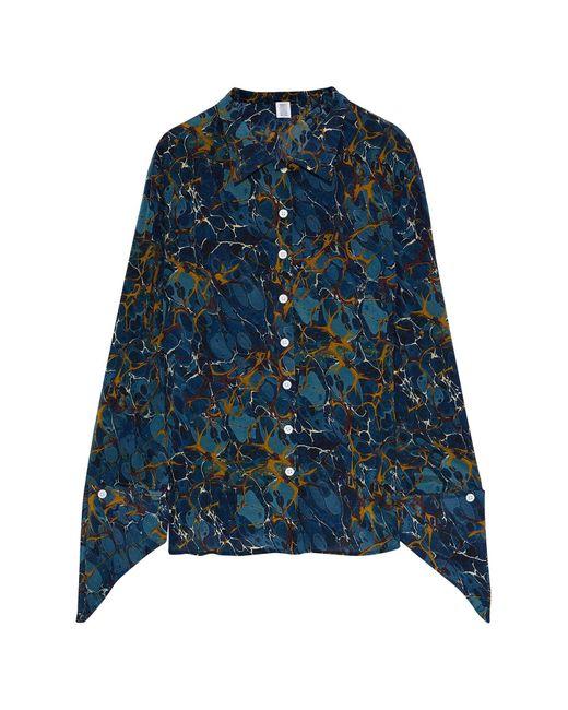 Chemise Rosie Assoulin en coloris Blue