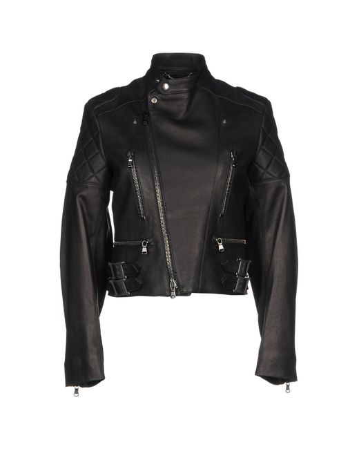Moschino - Black Jackets - Lyst