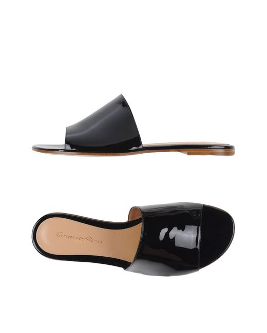 Gianvito Rossi - Black Sandals - Lyst