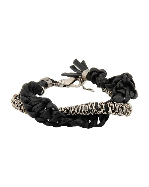 Emanuele Bicocchi - Black Bracelets - Lyst