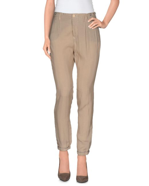 Jfour - Natural Casual Trouser - Lyst