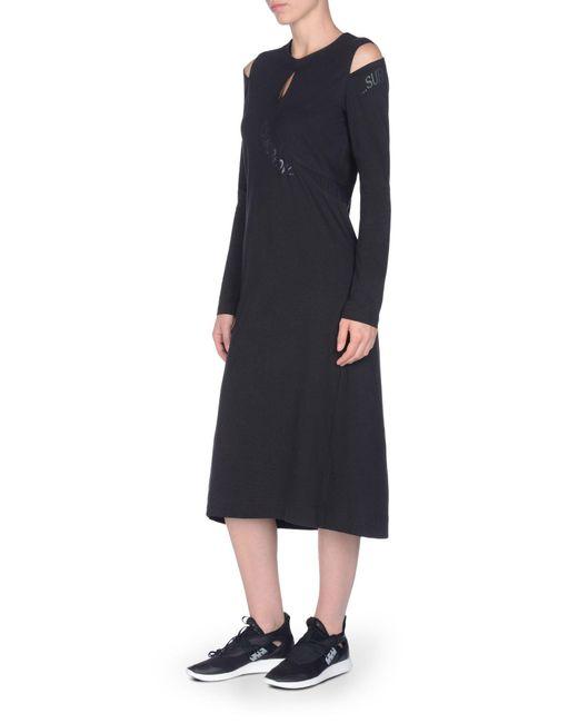 Y-3 Black Statement Dress