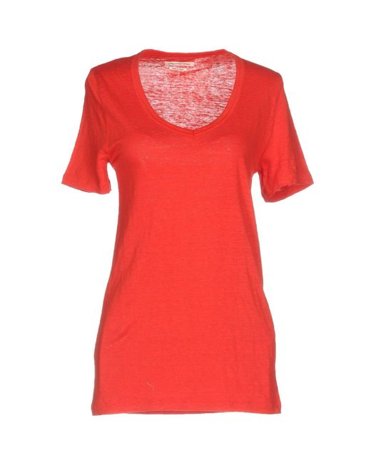 Lyst Toile Isabel Marant T Shirt In Red