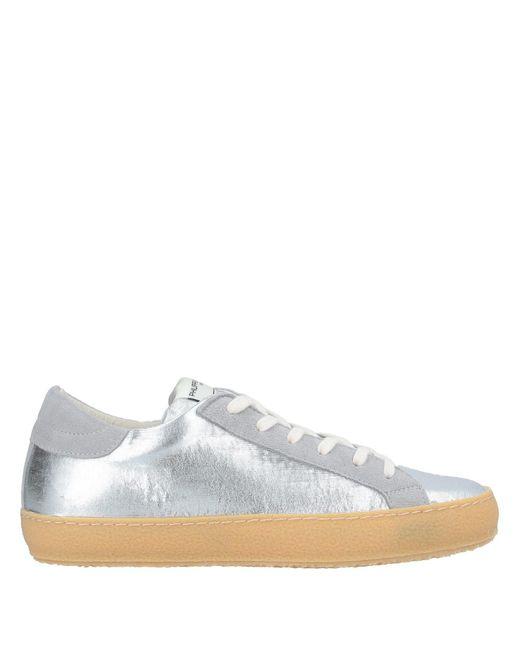 Philippe Model Metallic Low Sneakers & Tennisschuhe