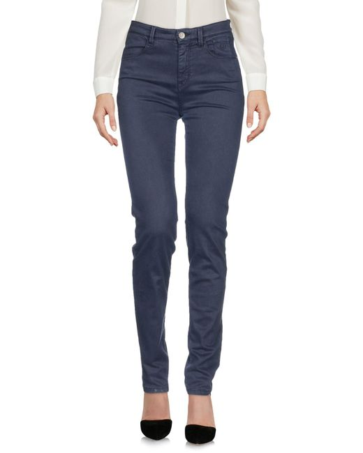 Jeckerson Blue Casual Trouser