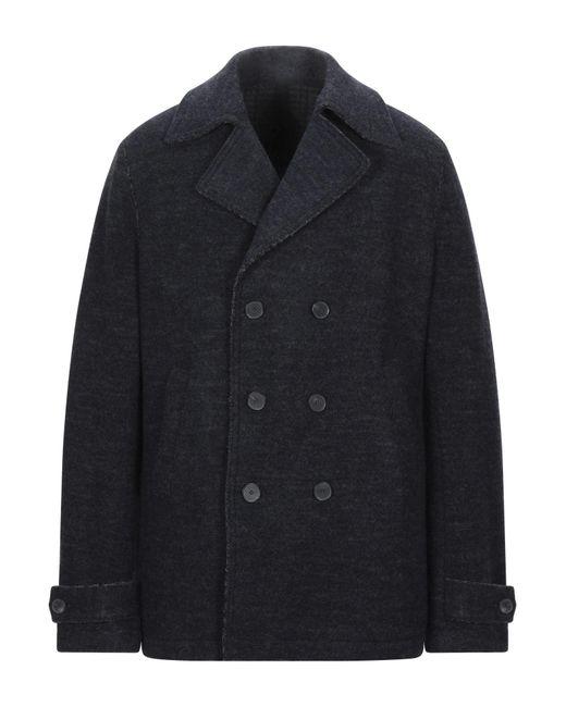 Cappotto di Harris Wharf London in Blue da Uomo
