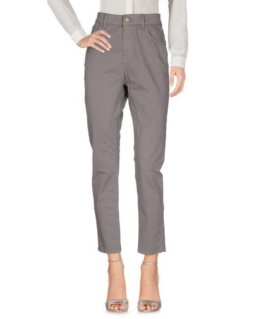 Pantalon Manila Grace en coloris Gray