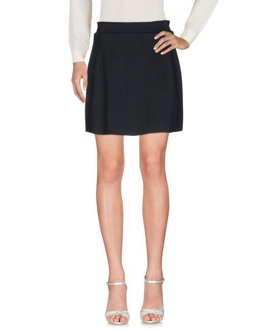 Osklen - Black Mini Skirt - Lyst
