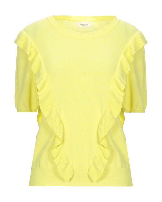 ViCOLO Yellow Pullover