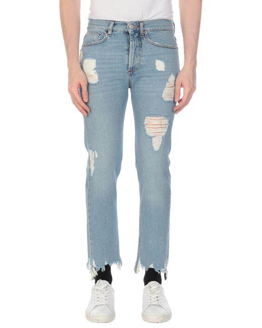 Pantaloni jeans di Mauro Grifoni in Blue da Uomo