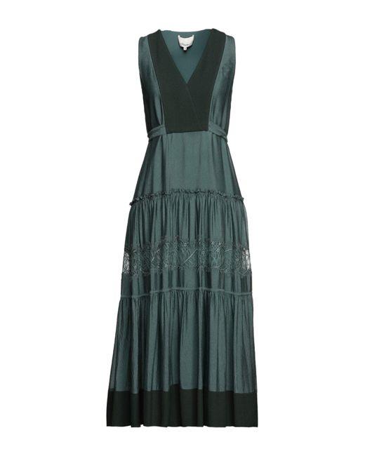 3.1 Phillip Lim Green Midi Dress