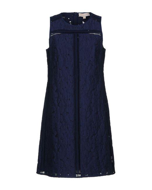 Robe courte MICHAEL Michael Kors en coloris Blue