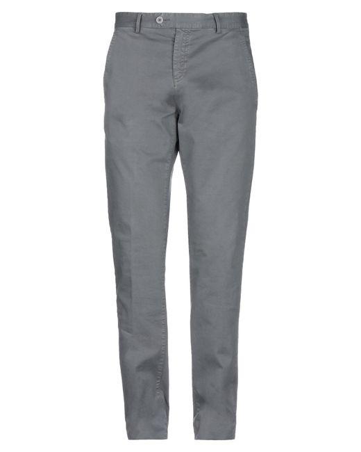 Les Copains Gray Casual Trouser for men