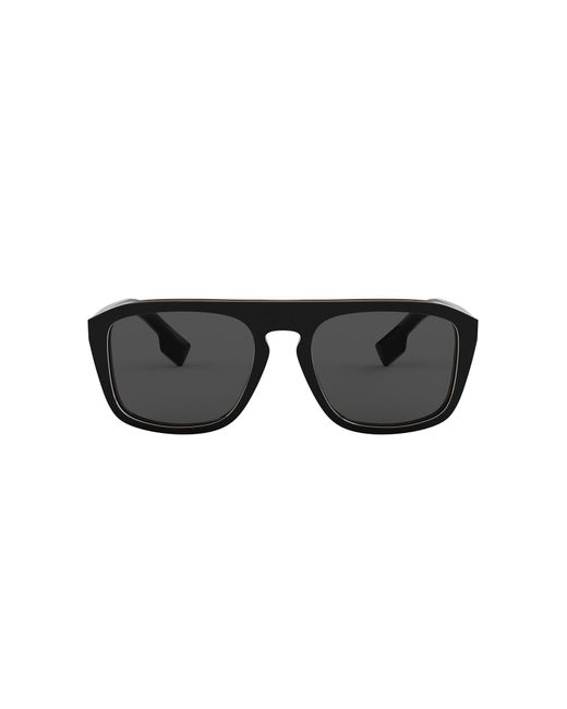 Occhiali da sole di Burberry in Black da Uomo