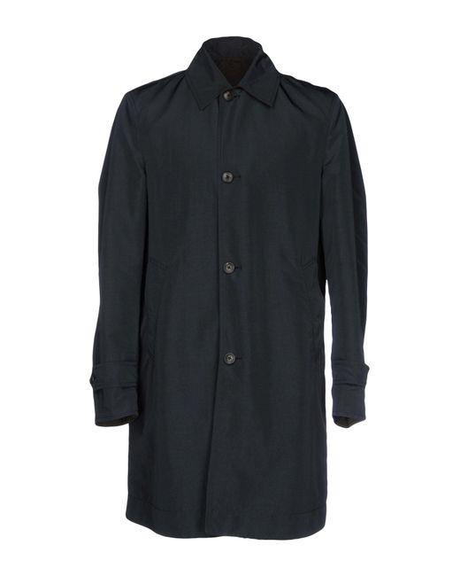 Boglioli | Gray Overcoat for Men | Lyst
