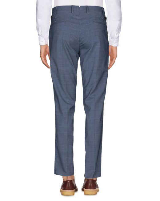PT01 Pantalon homme de coloris bleu ojMYP