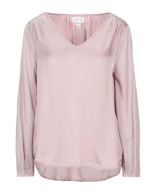 Blusa Velvet By Graham & Spencer de color Pink