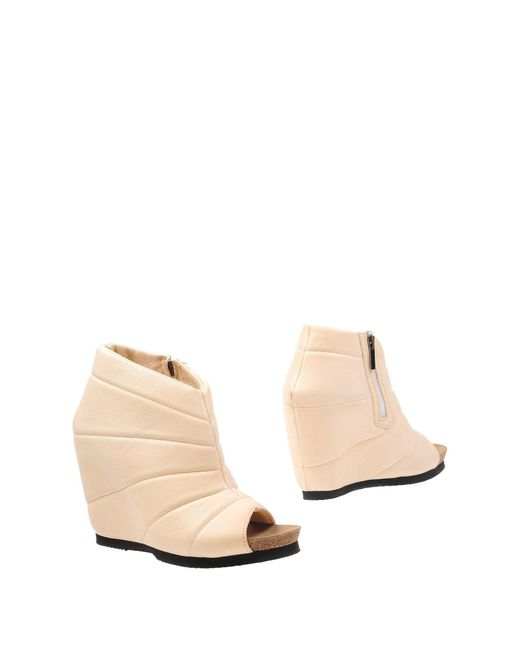 Peter Non - White Ankle Boots - Lyst