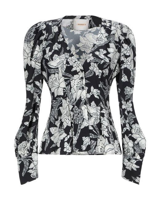 LaDoubleJ Camisa de mujer de color negro Qd68p