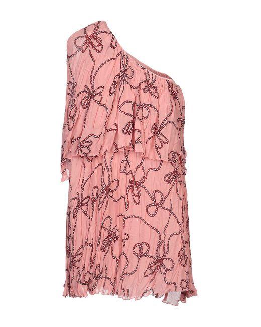 Robe courte Pinko en coloris Pink